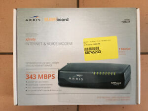 ARRIS SURFBOARD XFINITY INTERNET & VOICE MODEM TM822R