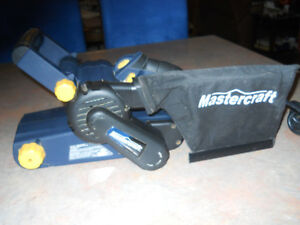 Belt Sander by Mastercraft