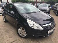 Vauxhall Corsa 1.2I 16V CLUB (black) 2007