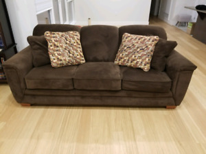 Full living room set - couches, tables, lamps and more