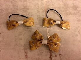 Next made to match bows- different patterns available