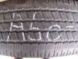 Four Goodyear Wrangler SR-A 275/60R20 Used Tires