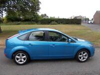 Ford Focus 1.6 ZETEC (blue) 2009