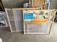 Safety 1st wood security gates for sale!