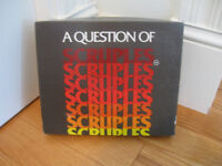 "CANADIAN-MADE HALARIOUS GAME [ '80's] ""A QUESTION of SCRUPLES"""