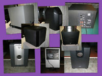 12 Great Subwoofers from $25 to $495, **Updated 15/02/24**
