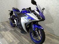 2015 (65) YAMAHA YZF R3 SPORTS BIKE WITH ONLY 7896 MILES ONE OWNER