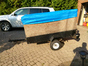 4ft x 6ft utility trailer with ownership