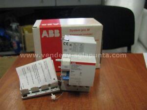 ABB-DDA64-IN-MAX-40A-0-5-A-BLOCCO-DIFFERENZIALE-4-POLI-40-A-0-5A-NUOVO
