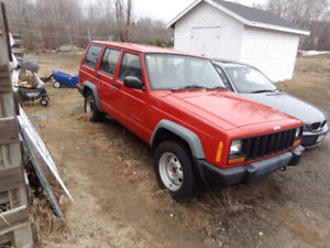 Must go. 1998 Jeep Cherokee
