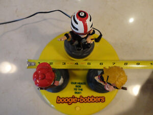 Collectible Rare Boogie Bobbers Triple Head Bopper Animated Toy Kitchener / Waterloo Kitchener Area image 2
