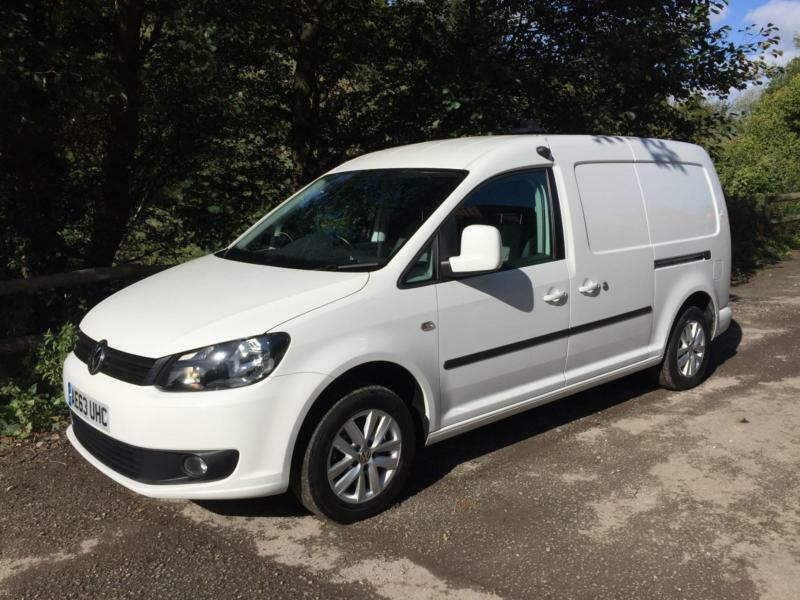 2013 63 vw caddy maxi 1 6 tdi 102ps c20 highline van 34k. Black Bedroom Furniture Sets. Home Design Ideas