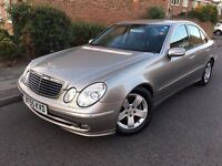 2005 MERCEDES E220 CDI AVANTGARDE FULL SERVICE HISTORY NAVIGATION/MAP MOT:04/17 HALFLEATHER INTERIOR
