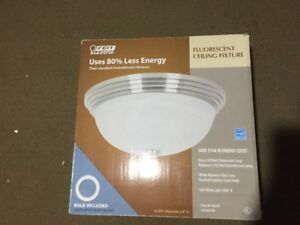 4 New Ceiling Light Fixtures