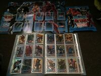 Topps hero attax folder and cards