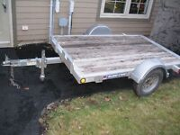 2013 Galvanized trailer