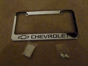 Chevrolet Chevy License Plate Frame London Ontario image 1
