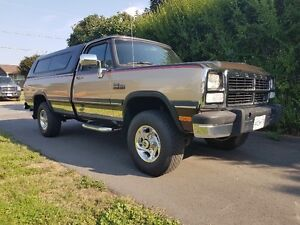 1992 Dodge Power Ram 2500 Pickup Truck for sale