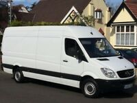 Affordable/Short notice removal van services