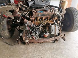 Metro / mini engine