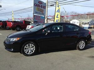 2012 Honda Civic LX, 2 YEAR WARRANTY INCLUDED!!