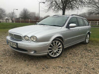2006 Jaguar X-TYPE 2.2D Sport SatNav Manual Diesel Estate in Silver