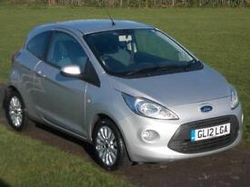 2012 (12) Ford Ka 1.3TDCi ( 75ps ) Zetec
