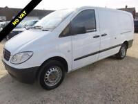 2010 MERCEDES-BENZ VITO 2.1 111 CDI LONG LWB 111 CDI 70790 MILES NO VAT TO PAY D