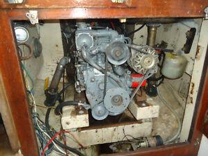 Yanmar 3GM 30F and 32' Douglas Sailboat