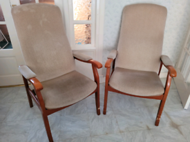 Pair of Cintique armchairs