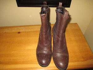 rockport leather boots