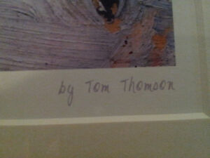 """Limited Edition """"Winter Morning"""" by Tom Thomson London Ontario image 4"""