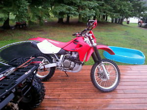Honda xr650r race bike
