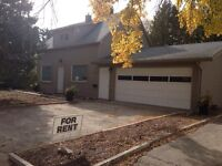 House for rent in Humboldt with double car garage