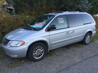 For Sale 2002 Silver Chrysler Town & Country