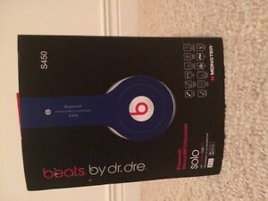 Beats By Dr. DRE solo S450 wireless Bluetooth headset $148 obo
