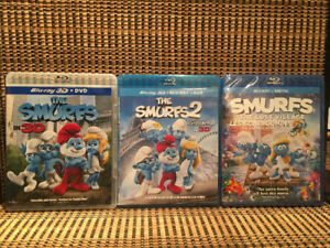 The Smurfs Trilogy 3D (6-Disc Blu-ray/DVD)Katy Perry/Demi Lovato