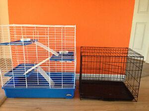 Cage pour furet lapin chinchillas rongeur et 1 pour petit chien