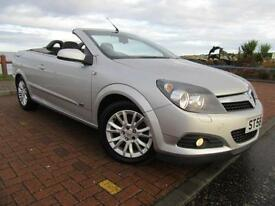 Vauxhall Astra 1.9CDTi Diesel Coupe Convertible 09 Twin Top Sport FSH Low Miles