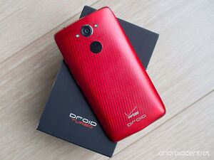 Mint new Rare Droid turbo carbon red
