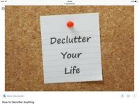CLEANING SERVICES & DE - CLUTTERING & ORGANISATION