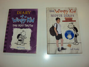 2 Diary of a Wimpy Kid books, both for $10