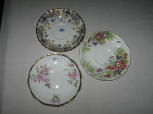 OLD VINTAGE REPLACEMENT SAUCERS ONLY...