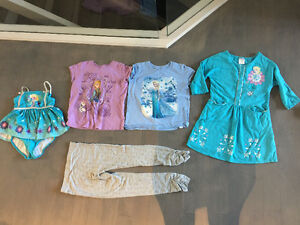 Size 7 youth girl - clothes swimsuits pjs - all Disney store