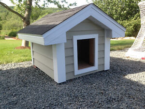 Beautiful new doghouse