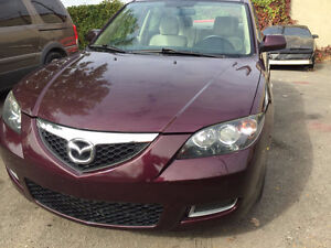 2007 Mazda Mazda3 GS Berline 2.0L AUTOMATIQUE LOW KM SPECIAL
