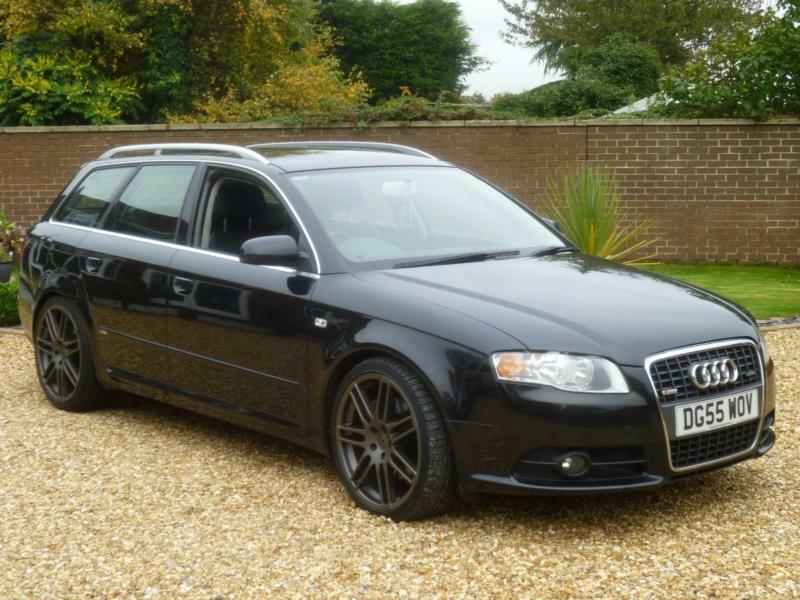 2005 55 audi a4 avant 3 0 tdi auto quattro s line avant. Black Bedroom Furniture Sets. Home Design Ideas