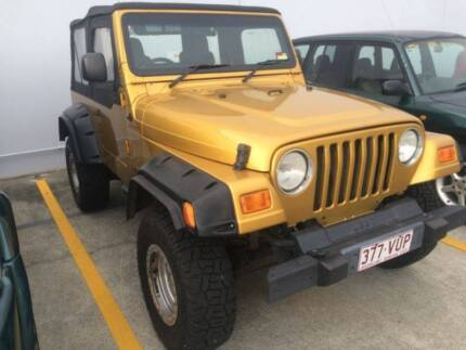 2003 JEEP WRANGLER SOFTTOP WAGON, RWC, REGO, 12 MTH WARRANTY Kippa-ring Redcliffe Area Preview
