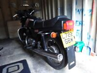 Jawa TS350 2-stroke motorcycle only 2500 miles