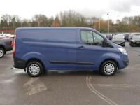 2016 Ford Transit Custom 290 SWB 2.0 Tdci Trend 130PS Diesel blue Manual